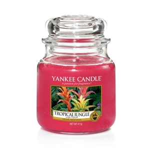 Tropical Jungle Yankee Candle - Świeca średnia