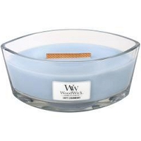 Świeca Woodwick Hearthwick - Soft Chambray