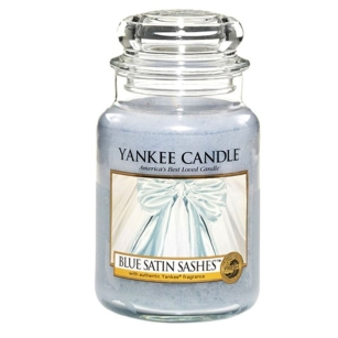 Blue Satin Sashes Yankee Candle - Duża świeca