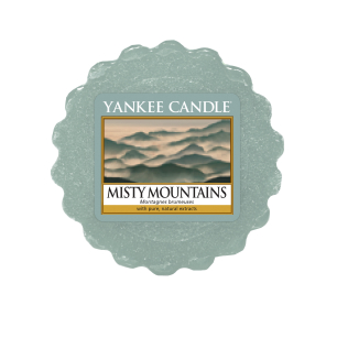 Misty Mountains Yankee Candle - Wosk