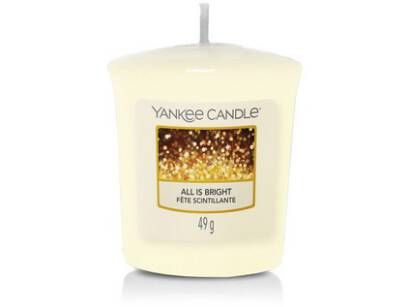 All Is Bright Yankee Candle - mała swieca votive
