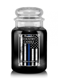 Protect And Serve Country Candle - duża świeca - 2 knoty
