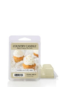 Vanilla Cupcake Country Candle wosk zapachowy 64 gram