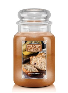 Banana Bread Country Candle - duża świeca - 2 knoty