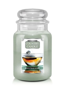 Black Tea & Honey Country Candle - duża świeca - 2 knoty