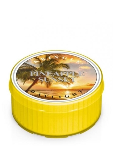 Kringle Candle - Pineapple Sunset  - świeczka zapachowa daylight 35g