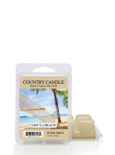 Life's A Beach Country Candle wosk zapachowy 64 gram