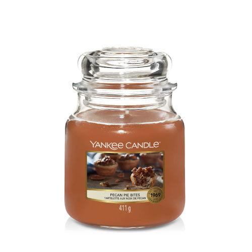 Pecan Pie Bites Yankee Candle - średnia świeca zapachowa - nowość 2020