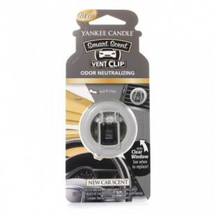 New Car Scent Yankee Candle - zapach samochodowy vent clip