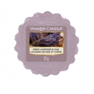 Dried Lavender & Oak Yankee Candle - wosk zapachowy