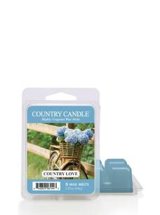 Country Love Country Candle wosk zapachowy 64 gram