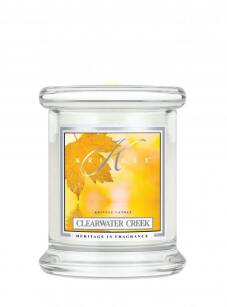 Kringle Candle - Clearwater Creek - mini, klasyczny słoik (128g)
