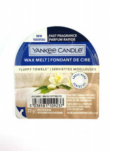 Fluffy Towels Yankee Candle  - nowy wosk zapachowy