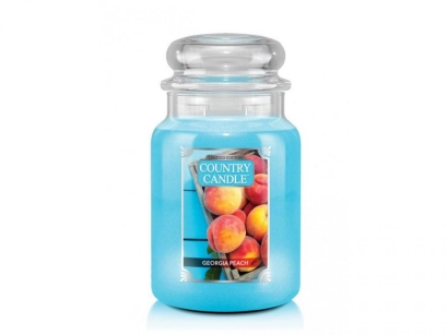 Georgia Peach Country Candle - duża świeca - 2 knoty