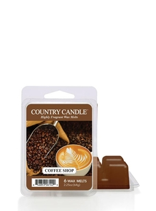 Country Candle - Coffee Shop - wosk zapachowy 64 gram