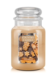 Gingerbread Country Candle - duża świeca - 2 knoty