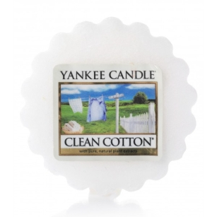 Clean Cotton Yankee Candle - wosk zapachowy