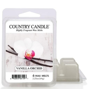 Vanilla Orchid Country Candle wosk zapachowy 64 gram