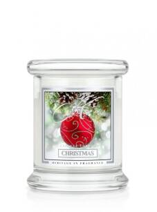 Kringle Candle - Christmas - mini, klasyczny słoik (128g)