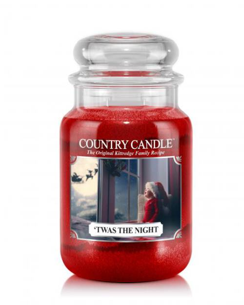 Country Candle - 'Twas the Night - Duży słoik (652g) 2 knoty