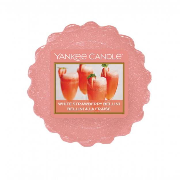 White Strawberry Bellini Yankee Candle - wosk zapachowy