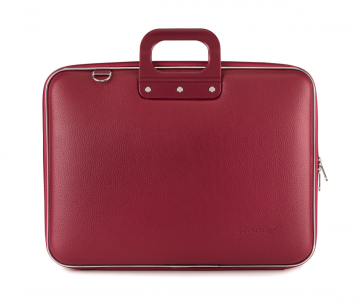 "BOMBATA MAXI - TORBA NA LAPTOP 17"" BORDO"