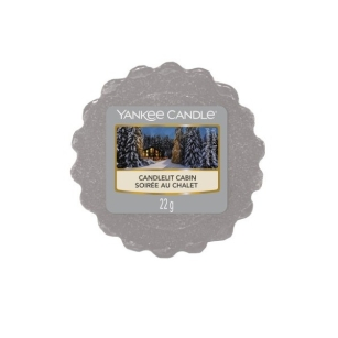 Candlelit Cabin Yankee Candle - wosk zapachowy