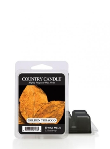 Country Candle -Golden Tobacco - wosk zapachowy 64 gram