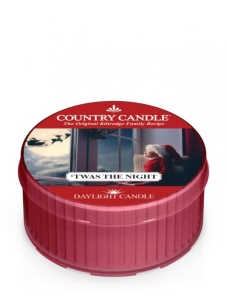 Country Candle - 'Twas the Night -świeczka zapachowa Daylight 35g