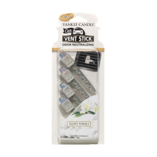 Fluffy Towels Yankee Candle - car vent stick - zapach do auta